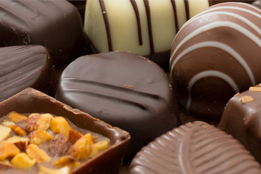 فروش مواد اولیه صنایع شکلات سازی